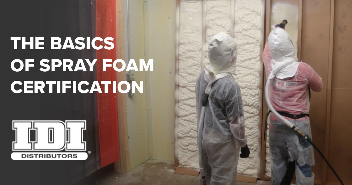 Spray Foam Certification