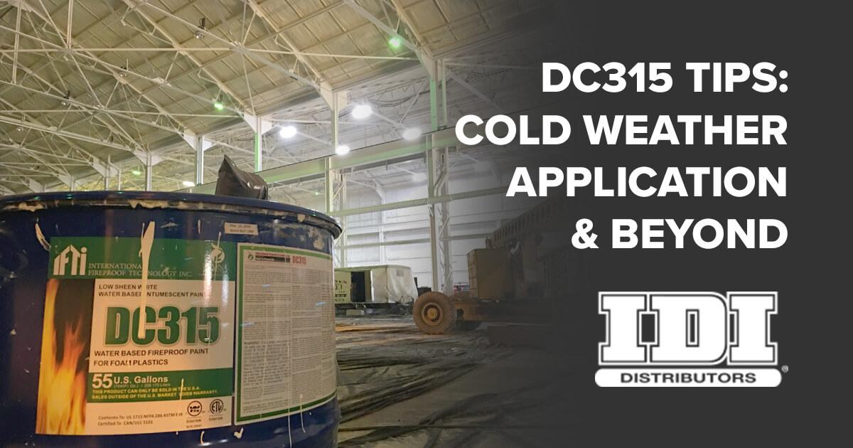 dc315 tips applying dc315 in cold weather. Black Bedroom Furniture Sets. Home Design Ideas