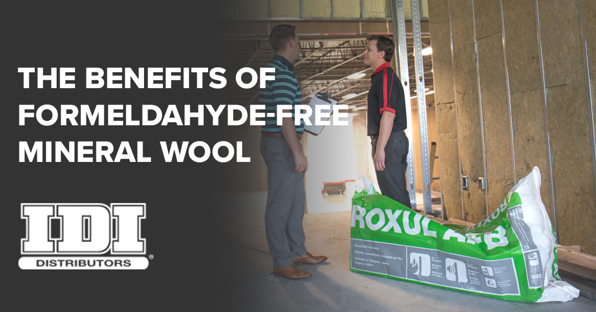 Benefits of formaldehyde free mineral wool insulation for Mineral wool insulation health and safety