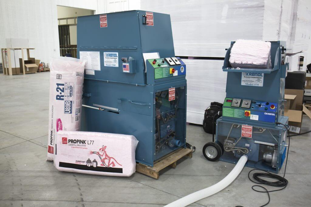insulation blowing machines
