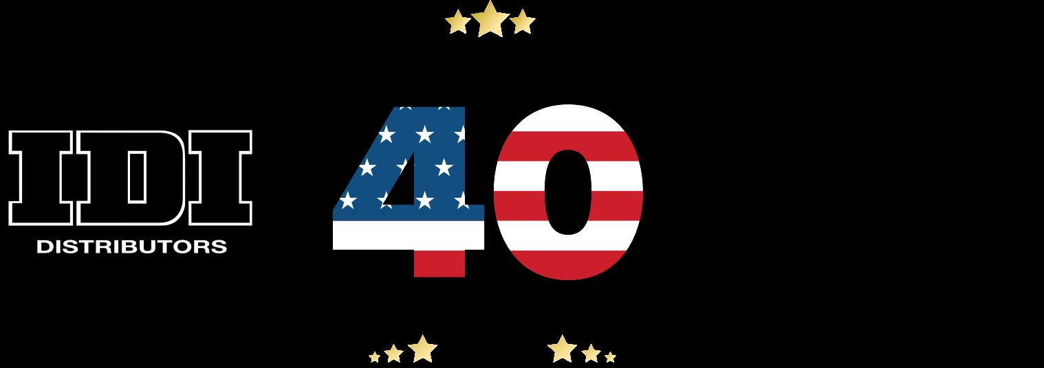 40 Years IDI Logo