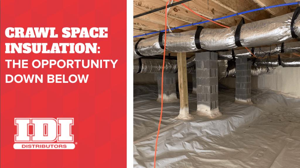 Crawl Space Insulation blog infographic